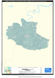 Map of Brisbane Centenary Area