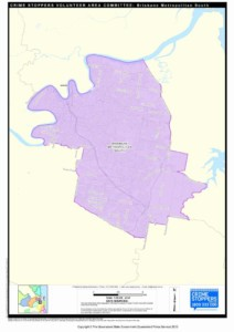 Map of Brisbane Metro South Area