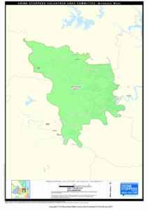 Map of Brisbane West Area