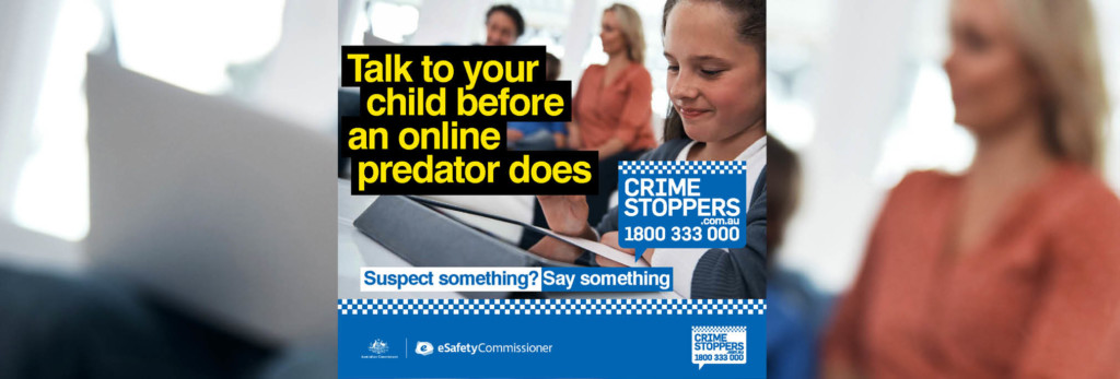 Talk to your child before an online predator does
