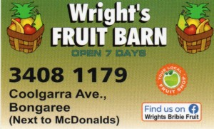 Wright's Fruit Barn Logo